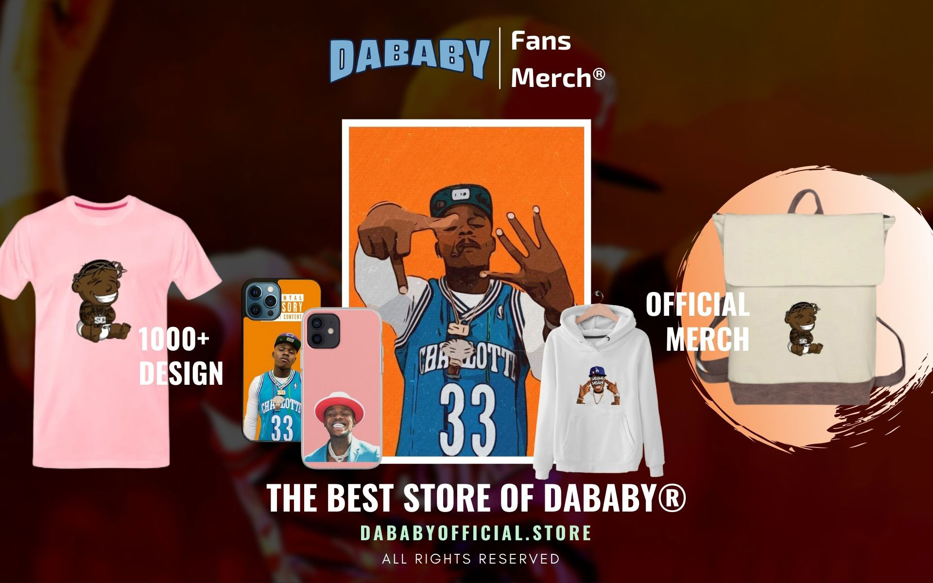 DaBaby Merch Web Banner - DaBaby Store