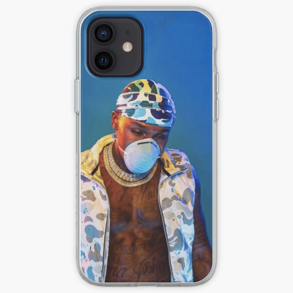 Blame It On Baby   Da Baby Album Cover iPhone Soft Case RB0207 product Offical DaBaby Merch
