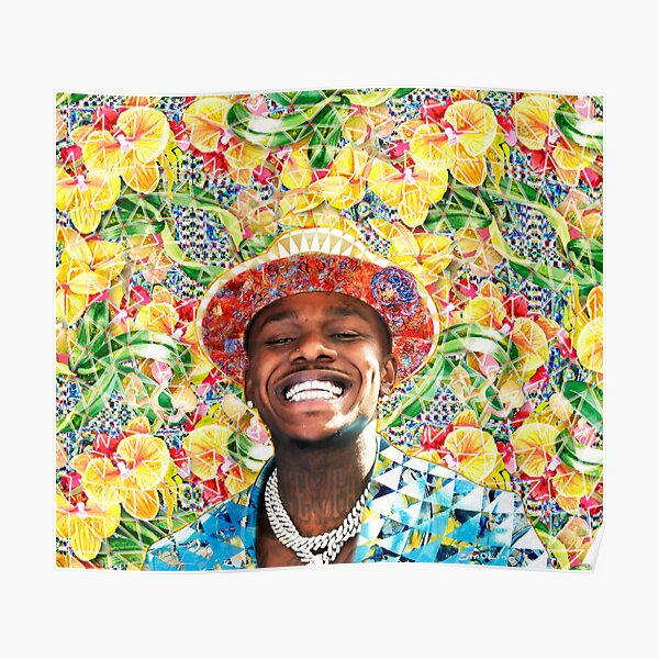 DaBaby Portrait Poster RB0207 product Offical DaBaby Merch