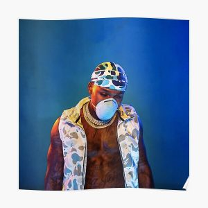 Blame It On Baby | Da Baby Album Cover Poster RB0207 product Offical DaBaby Merch