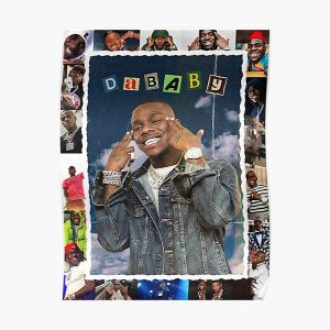 DABABY Rockstar Shirt Poster RB0207 product Offical DaBaby Merch