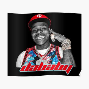DaBaby Fan Art & Merch Poster RB0207 product Offical DaBaby Merch