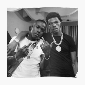 LIL BABY X DABABY Poster RB0207 product Offical DaBaby Merch