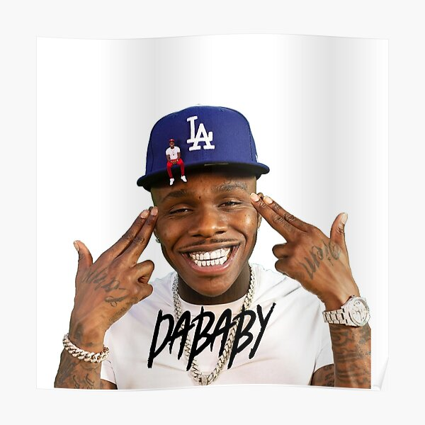 rabbo Rap Dababy Hip-hop baby on baby Tour 2019 Poster RB0207 product Offical DaBaby Merch