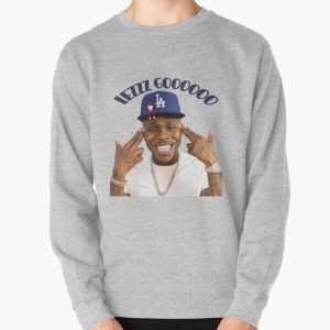 dababy lezzz gooooo Pullover Sweatshirt RB0207 product Offical DaBaby Merch
