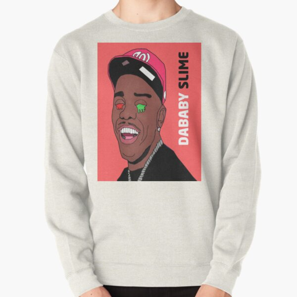Dababy Slime Drawing Pullover Sweatshirt RB0207 product Offical DaBaby Merch
