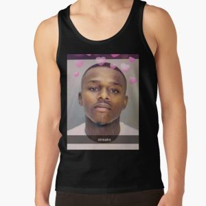 DaBaby Mugshot Snapchat Filter Tank Top RB0207 product Offical DaBaby Merch