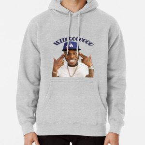 dababy lezzz gooooo Pullover Hoodie RB0207 product Offical DaBaby Merch