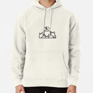 Simple DaBaby Pullover Hoodie RB0207 product Offical DaBaby Merch