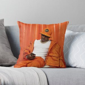 DaBaby Fan Art & Merch Throw Pillow RB0207 product Offical DaBaby Merch