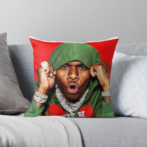 sticker-dababy-perfect Throw Pillow RB0207 product Offical DaBaby Merch