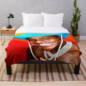Dababy Cowboy Throw Blanket RB0207 product Offical DaBaby Merch