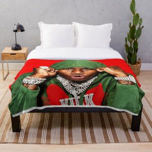 sticker-dababy-perfect Throw Blanket RB0207 product Offical DaBaby Merch