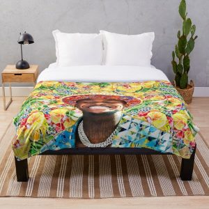 DaBaby Portrait Throw Blanket RB0207 product Offical DaBaby Merch