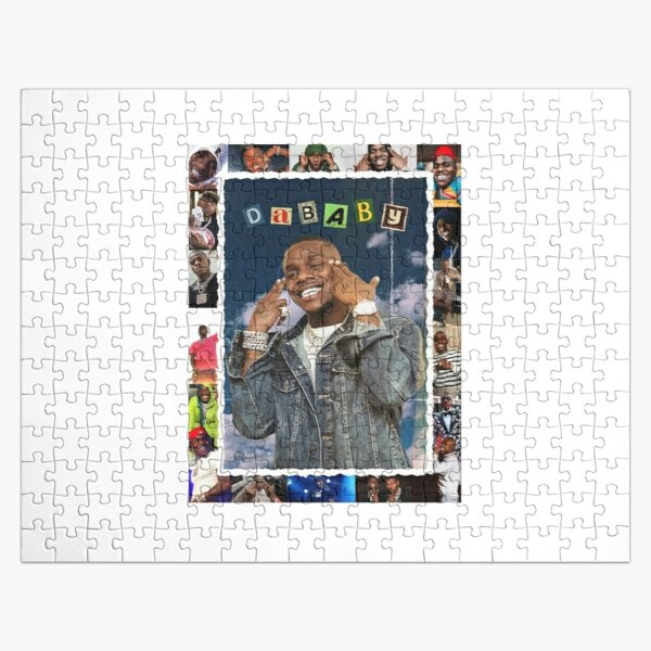 DABABY Rockstar Shirt Jigsaw Puzzle RB0207 product Offical DaBaby Merch