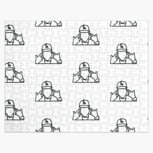 Simple DaBaby Jigsaw Puzzle RB0207 product Offical DaBaby Merch