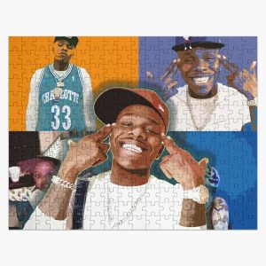 DaBaby with albums Jigsaw Puzzle RB0207 product Offical DaBaby Merch